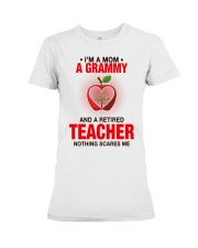 NOTHING SCARES ME - PERFECT GIFT FOR GRAMMY Premium Fit Ladies Tee tile