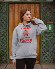 NOTHING SCARES ME - PERFECT GIFT FOR GRAMMY Hooded Sweatshirt apparel-hooded-sweatshirt-lifestyle-02