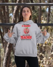 NOTHING SCARES ME - PERFECT GIFT FOR GRAMMY Hooded Sweatshirt apparel-hooded-sweatshirt-lifestyle-05