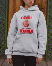 NOTHING SCARES ME - PERFECT GIFT FOR GRAMMY Hooded Sweatshirt apparel-hooded-sweatshirt-lifestyle-front-03