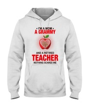 NOTHING SCARES ME - PERFECT GIFT FOR GRAMMY Hooded Sweatshirt tile