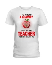 NOTHING SCARES ME - PERFECT GIFT FOR GRAMMY Ladies T-Shirt tile