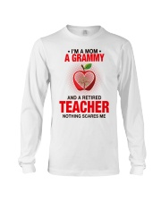 NOTHING SCARES ME - PERFECT GIFT FOR GRAMMY Long Sleeve Tee tile