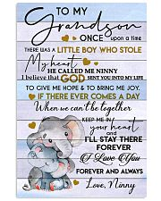 I LOVE YOU - BEST GIFT FOR GRANDSON 11x17 Poster front