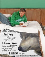 """1 DAY LEFT - GET YOURS NOW Large Sherpa Fleece Blanket - 60"""" x 80"""" aos-sherpa-fleece-blanket-60x80-lifestyle-front-07"""