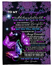 """I BELIEVE IN YOU - PERFECT GIFT FOR GRANDDAUGHTER Small Fleece Blanket - 30"""" x 40"""" front"""