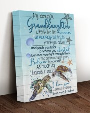 I BELIEVE IN YOU - BEST GIFT FOR GRANDDAUGHTER 11x14 Gallery Wrapped Canvas Prints aos-canvas-pgw-11x14-lifestyle-front-17