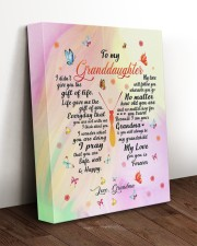 THE GIFT OF LIFE - AMAZING GIFT FOR GRANDDAUGHTER 11x14 Gallery Wrapped Canvas Prints aos-canvas-pgw-11x14-lifestyle-front-17