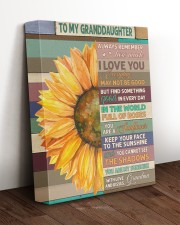 ALWAYS REMEMBER - SPECIAL GIFT FOR GRANDDAUGHTER 11x14 Gallery Wrapped Canvas Prints aos-canvas-pgw-11x14-lifestyle-front-17