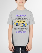 LOTS OF LOVE - PERFECT GIFT FOR GRANDSON Youth T-Shirt garment-youth-tshirt-front-01