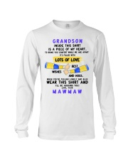 LOTS OF LOVE - PERFECT GIFT FOR GRANDSON Long Sleeve Tee thumbnail