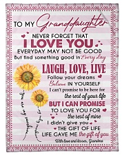 """THE GIFT OF LIFE - GREAT GIFT FOR GRANDDAUGHTER Small Fleece Blanket - 30"""" x 40"""" front"""