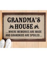 """GRANDMA'S HOUSE Doormat 22.5"""" x 15""""  aos-doormat-22-5x15-lifestyle-front-03"""