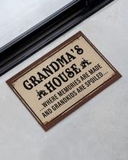 """GRANDMA'S HOUSE Doormat 22.5"""" x 15""""  aos-doormat-22-5x15-lifestyle-front-09"""
