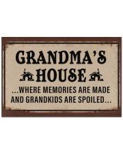 """GRANDMA'S HOUSE Doormat 22.5"""" x 15""""  front"""