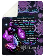 """BUTTERFLY WAY BACK HOME - MAMMY TO GRANDDAUGHTER Large Sherpa Fleece Blanket - 60"""" x 80"""" thumbnail"""