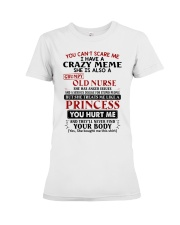 YOU CAN'T SCARE ME - PERFECT GIFT FOR MEME Premium Fit Ladies Tee tile