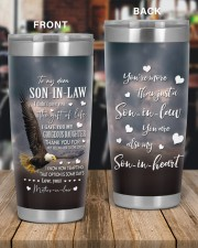 THE GIFT OF LIFE - SPECIAL GIFT FOR SON-IN-LAW 20oz Tumbler aos-20oz-tumbler-lifestyle-front-56