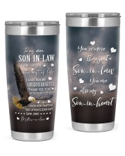 THE GIFT OF LIFE - SPECIAL GIFT FOR SON-IN-LAW 20oz Tumbler front