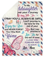 YOUR WAY BACK HOME - TO GRANDDAUGHTER FROM NANA Sherpa Fleece Blanket tile