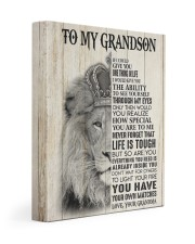 ONE THING IN LIFE - GREAT GIFT FOR GRANDSON 11x14 Gallery Wrapped Canvas Prints front