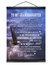 YOU CAN OVERCOME - GREAT GIFT FOR GRANDDAUGHTER  Hanging Canvas tile