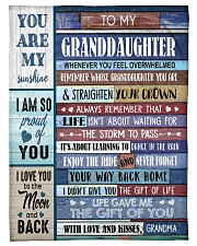 """YOU ARE MY SUNSHINE - GREAT GIFT FOR GRANDDAUGHTER Small Fleece Blanket - 30"""" x 40"""" front"""