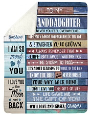 """YOU ARE MY SUNSHINE - GREAT GIFT FOR GRANDDAUGHTER Large Sherpa Fleece Blanket - 60"""" x 80"""" thumbnail"""