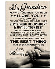 I LOVE YOU - PERFECT GIFT FOR GRANDSON 11x17 Poster front