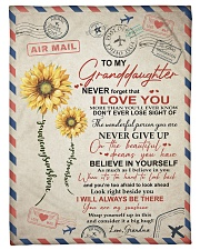 """YOU ARE MY SUNSHINE SPECIAL GIFT FOR GRANDDAUGHTER Small Fleece Blanket - 30"""" x 40"""" front"""
