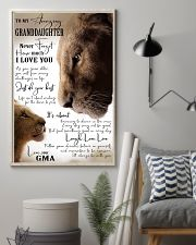 I LOVE YOU - GREAT GIFT FOR GRANDDAUGHTER 11x17 Poster lifestyle-poster-1