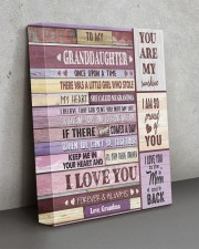 I LOVE YOU - AMAZING GIFT FOR GRANDDAUGHTER 11x14 Gallery Wrapped Canvas Prints aos-canvas-pgw-11x14-lifestyle-front-15