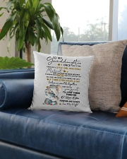 I LOVE YOU - GREAT GIFT FOR GRANDDAUGHTER Square Pillowcase aos-pillow-square-front-lifestyle-02