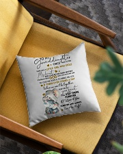 I LOVE YOU - GREAT GIFT FOR GRANDDAUGHTER Square Pillowcase aos-pillow-square-front-lifestyle-07