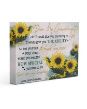 YOU ARE MY SUNSHINE - BEST GIFT FOR GRANDDAUGHTER 14x11 Gallery Wrapped Canvas Prints front