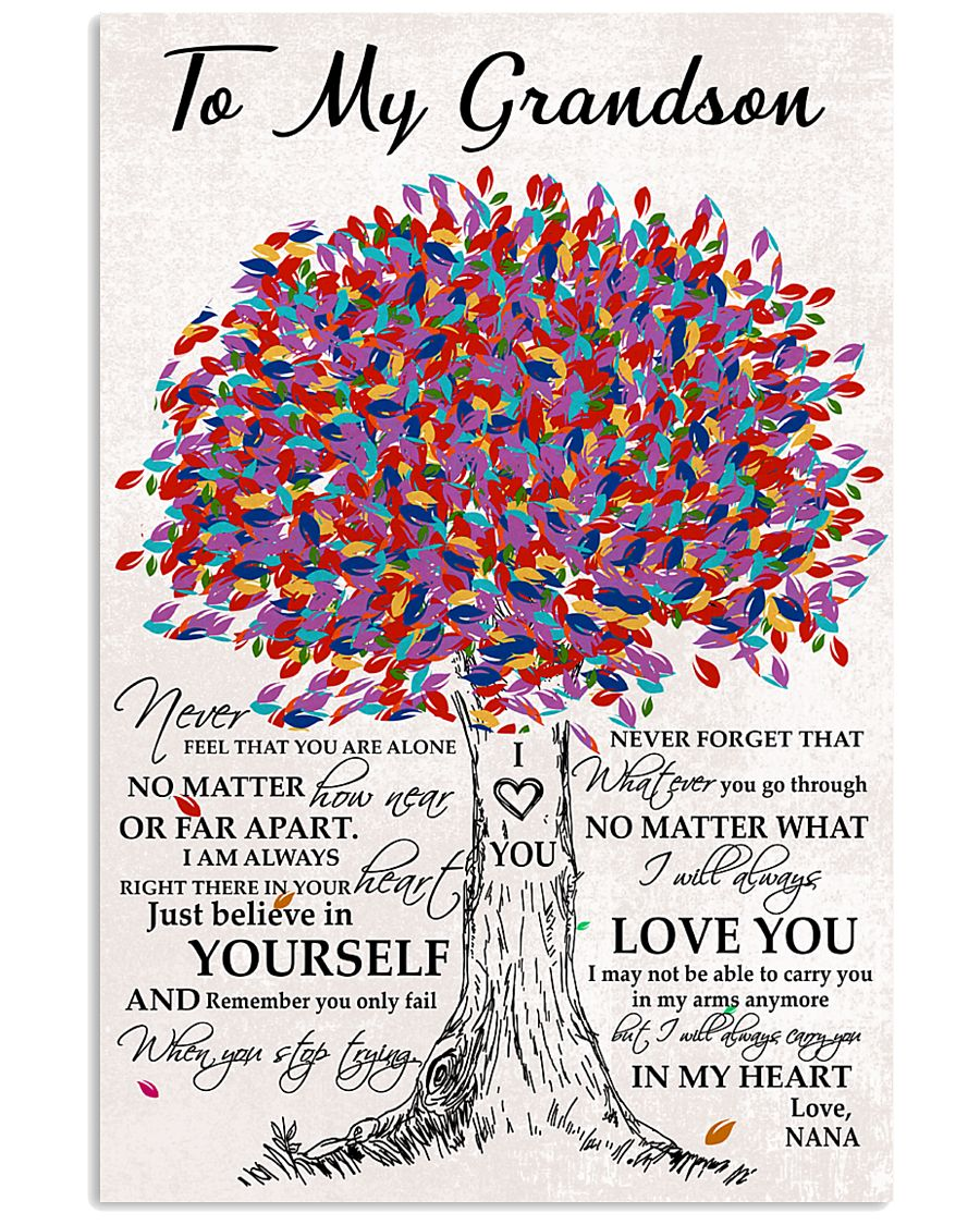 grandson-Nana-yourself-htte 11x17 Poster