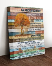 THE SUNSHINE - BEST GIFT FOR GRANDDAUGHTER 11x14 Gallery Wrapped Canvas Prints aos-canvas-pgw-11x14-lifestyle-front-17