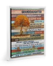 THE SUNSHINE - BEST GIFT FOR GRANDDAUGHTER 11x14 White Floating Framed Canvas Prints thumbnail