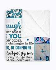 """YOU ARE MY SUNSHINE - BEST GIFT FOR GRANDDAUGHTER Quilt 50""""x60"""" - Throw aos-quilt-50x60-lifestyle-closeup-front-01"""