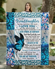 """YOU ARE MY SUNSHINE - BEST GIFT FOR GRANDDAUGHTER Quilt 50""""x60"""" - Throw aos-quilt-50x60-lifestyle-front-03"""