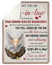 YOU'RE MORE THAN JUST A SON-IN-LAW Sherpa Fleece Blanket tile