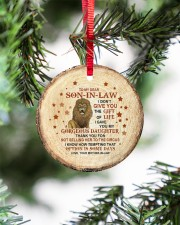 THANK YOU - BEST GIFT FOR SON-IN-LAW Circle ornament - single (porcelain) aos-circle-ornament-single-porcelain-lifestyles-07