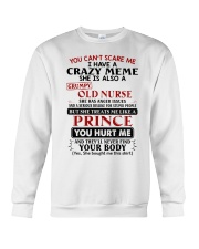 YOU CAN'T SCARE ME - PERFECT GIFT FOR MEME Crewneck Sweatshirt tile