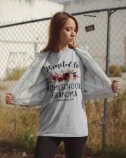 PROMOTED TO HOMESCHOOL GRANDMA QUARANTINE 2020 Classic T-Shirt apparel-classic-tshirt-lifestyle-07