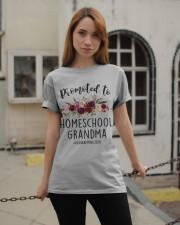 PROMOTED TO HOMESCHOOL GRANDMA QUARANTINE 2020 Classic T-Shirt apparel-classic-tshirt-lifestyle-19