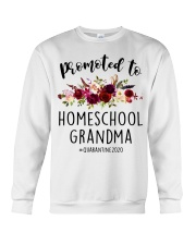 PROMOTED TO HOMESCHOOL GRANDMA QUARANTINE 2020 Crewneck Sweatshirt tile