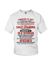 OLD WOMAN - SPECIAL GIFT FOR GRANDMA Youth T-Shirt front