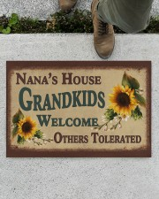 "WELCOME OTHERS TOLERATED - GREAT GIFT FOR NANA Doormat 22.5"" x 15""  aos-doormat-22-5x15-lifestyle-front-01"
