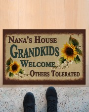 "WELCOME OTHERS TOLERATED - GREAT GIFT FOR NANA Doormat 22.5"" x 15""  aos-doormat-22-5x15-lifestyle-front-10"