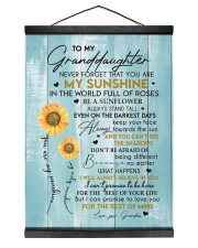 YOU ARE MY SUNSHINE - BEST GIFT FOR GRANDDAUGHTER Hanging Canvas tile